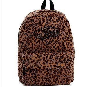 Vans Leopard backpack